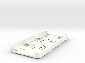 Fractal Iphone 5 Case in White Processed Versatile Plastic