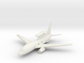 1/350 Boeing 737 AEW&C (E-7A Wedgetail) in White Natural Versatile Plastic