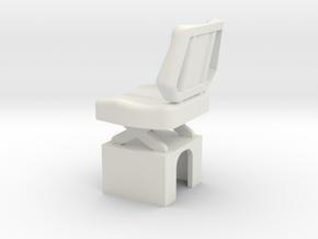 Mack-shell4 Seat in White Natural Versatile Plastic