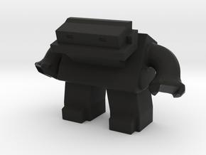 Robot 0036 Jaw Bot v1 in Black Strong & Flexible
