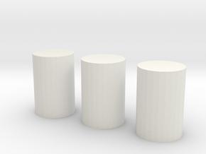 ATP Slide Sight Marks in White Natural Versatile Plastic