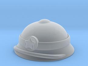 Vietnamese Pith Helmet in Smooth Fine Detail Plastic