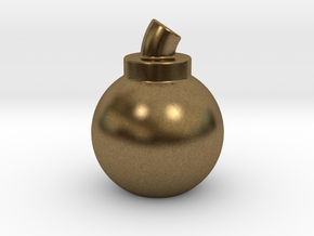 Bomb in Natural Bronze