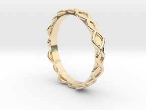 Lucid Ring - Sz. 8 in 14K Yellow Gold