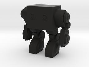 Robot 00409 Mech Robot in Black Strong & Flexible