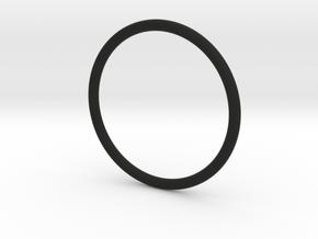 Simplicity Bangle in Black Strong & Flexible