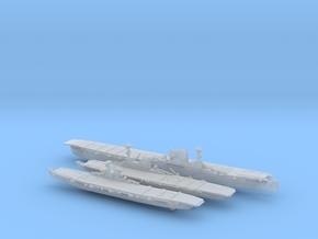 1/2400 KM WWII Carrier Projects in Smooth Fine Detail Plastic