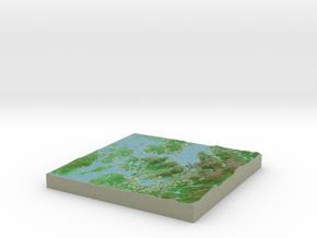 Terrafab generated model Fri Nov 22 2013 23:22:15  in Full Color Sandstone