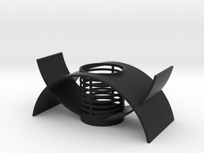 Orchid Planter II in Black Strong & Flexible