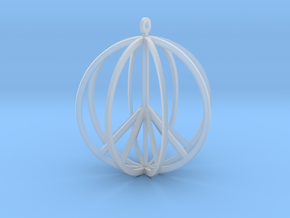 Global Peace in Smooth Fine Detail Plastic