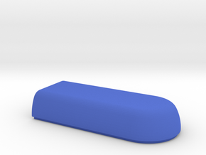 WAX3 Case Lower Half in Blue Strong & Flexible Polished