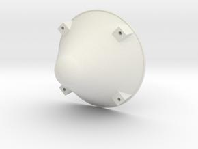Apollo BPC Cap- 1:25 in White Natural Versatile Plastic