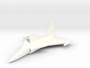 1/285 (6mm) JAS39 Gripen  in White Strong & Flexible Polished