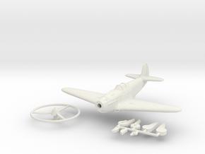1/100 Yakovlev Yak-3 in White Natural Versatile Plastic