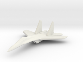 1/285 (6mm) SU-27 Flanker in White Strong & Flexible