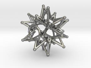 Tessa StarCore - Open Bottom - 2.5cm in Natural Silver