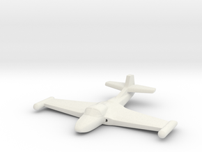 1/285 (6mm) A-37 Dragonfly in White Natural Versatile Plastic