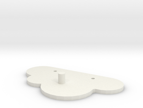 Cloud Key Magnet Wall mount in White Natural Versatile Plastic