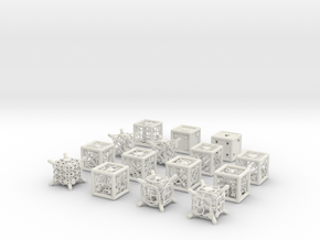 Grid Die All Pack 8 of 13 in White Natural Versatile Plastic