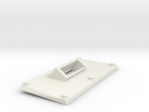 Simple alt front plate for goblin tank in White Natural Versatile Plastic