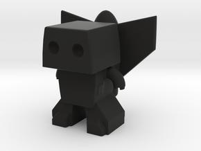 Robot 0049 Jet Pack Bot v1 Robot with Rocket Back  in Black Strong & Flexible