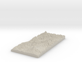 Model of South Point in Natural Sandstone