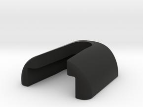 Corrales Clip in Black Natural Versatile Plastic