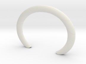 heartofpalmcuff2 in White Strong & Flexible