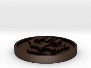 WCI 2cmx3cm SS in Matte Bronze Steel