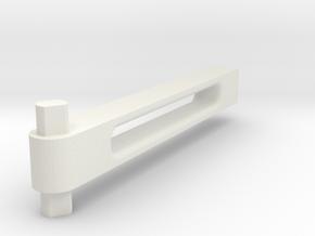 Fenix_20.6_Foot in White Natural Versatile Plastic