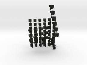 Shrapnel Prism in Black Strong & Flexible