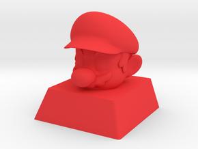Cherry MX Mario Keycap in Red Processed Versatile Plastic
