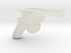 Man Stopper Revolver in Transparent Acrylic