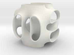 beta tungsten surface in White Natural Versatile Plastic