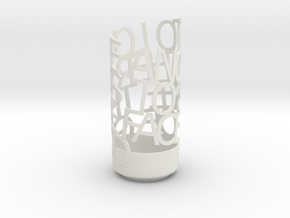 Light Poem - 60th Anniversary in White Natural Versatile Plastic
