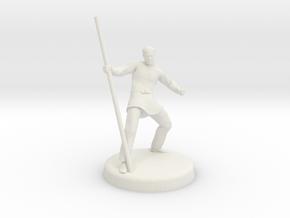 Avric (Human Monk) in White Natural Versatile Plastic