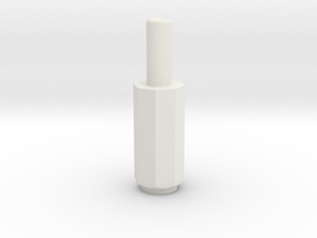 adapter jack in White Natural Versatile Plastic