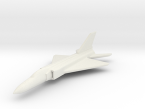 1/285 (6mm) J-8 Shenyang  in White Natural Versatile Plastic