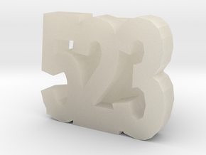523slide in White Acrylic