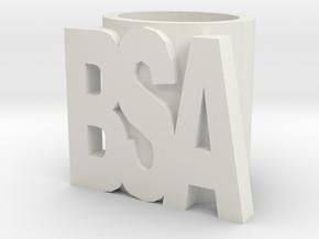 Bsa Slide in White Natural Versatile Plastic