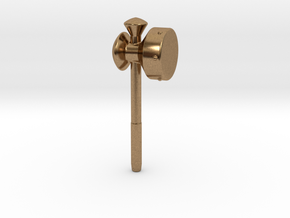 Megaton Hammer in Natural Brass