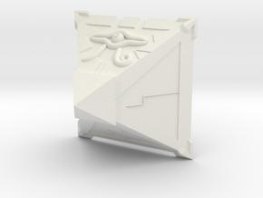 Millenium Puzzle in White Natural Versatile Plastic