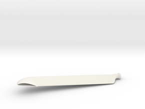 BC blade in White Natural Versatile Plastic