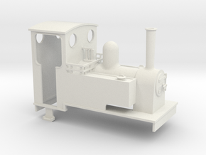Gn15 side tank 2 with cab in White Strong & Flexible