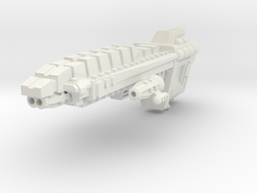 Javelin Patrol Cruiser in White Strong & Flexible