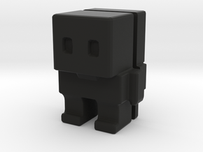 Block Bot Split in Black Strong & Flexible
