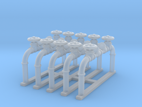 Pipes 1 - Zscale in Frosted Ultra Detail