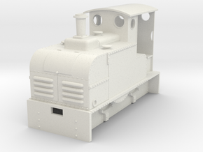 Gn15 Ruston Proctor loco  in White Strong & Flexible