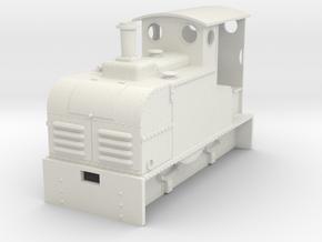 Gn15 Ruston Proctor loco  in White Natural Versatile Plastic