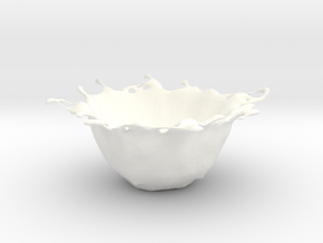 organic bowl in White Strong & Flexible Polished